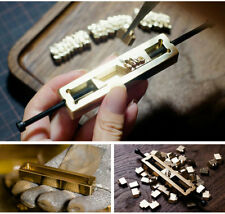Full 26 alphabet Leather carving tools seal stamp iron machine letter printing