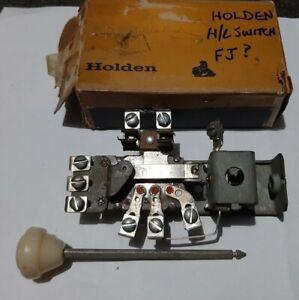 NOS GENUINE 48-215 FX FJ HOLDEN HEADLIGHT SWITCH 6 VOLT NEW OLD STOCK GMH NASCO