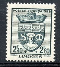 STAMP / TIMBRE FRANCE NEUF N° 560 ** BLASON / LIMOGES
