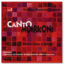 Pop Cd- V/A- Canto Morricone ~ Vol. 2, Western Songs & Ballads- Bear Family- New