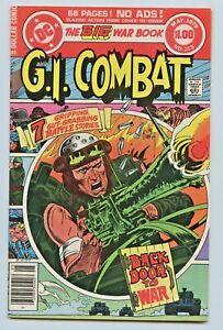 DC COMICS GI COMBAT 5 BOOK RUN  ISSUE'S #213 #214 #215 #216 #217 HAUNTED TANK