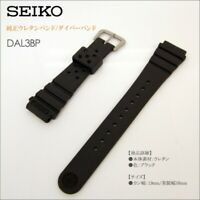 19mm NEW Genuine JDM SEIKO PROFESSIONAL RUBBER watch DIVE STRAP DAL3BP