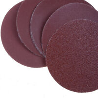 10pcs 75mm 3 Inch Round Shape Sanding Sheet Sander Discs Polishing Pad、Pop