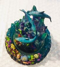 dance of the dolphins hand painted limited edition by Miller Collectible