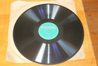 "HUGOPHONE (Two Voices) 1930's Learn Italian 12"" Shellac 78 rpm 2 x Record Discs"
