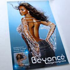 Huge Original 2003 Beyonce Beautiful Promoitonal Poster Ex Rare