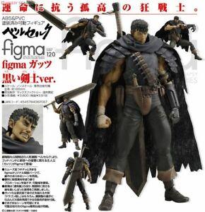 Max Factory figma 120 Berserk: Guts Black Soldier ver. (UNOPENED)