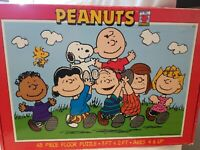 1998 PEANUTS 48 piece Floor Puzzle 3ft x 2ft # 1242-1