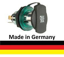 Einbau Power Steckdose Zigarettenanzünder 12-24V mit Schraubgewinde NEU PKW LKW