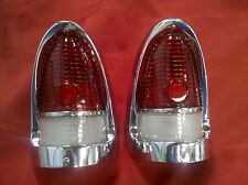 1955 55 CHEVY CHEVROLET TAIL LIGHT HOUSING ASSY. NEW, SHOW CONDITION