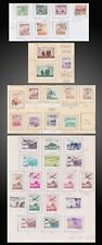 1951 - 1960 KOREA USED POSTAGE + AIR USED ON OLD PAGE SCT. 126 - 262 C6 - C42