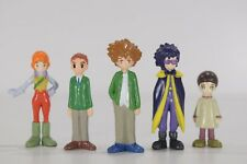 Bandai Digimon Adventure 02 Mini Figure 5 SET Ken Taichi Digital Monsters Japan