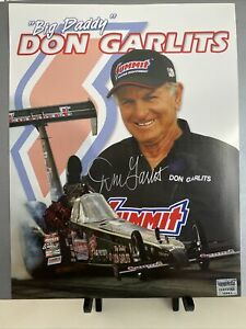 Don Big Daddy Garlits Signed Autograph 8.5x11 Hero Card Photo Drag Racing Legend