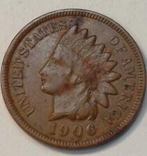 ***OLD U.S. COIN***1906 INDIAN HEAD BRONZE PENNY XF #256