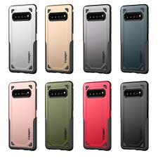 For Samsung Galaxy S10+ (Plus) Hybrid Armor Dual Layer Thin Fit Spigen Hard Case