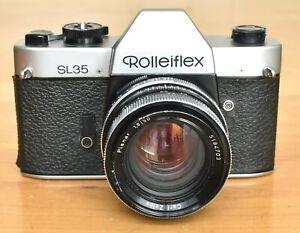 Rolleiflex SL35 SLR Camera w/ Zeiss 50mm f1.8 Lens
