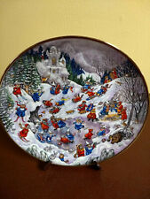 Bill Bell Convent Capers Winter Collector Plate