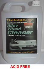 The Dogs Car Valeting Suitable For All Wheel Types ACID FREE Wheel Cleaner 5 LTR