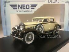 NEO SCALE MODELS 1/43 STUTZ DV32 MONTE CARLO SEDAN BY WEYMANN  ART.NEO46865