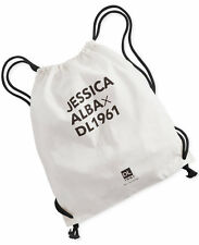 Jessica Alba DL1961 Drawstring Canvas Back Pack / Tote Bag - Brand New with Tags