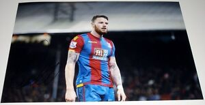 CONNOR WICKHAM CRYSTAL PALACE PERSONALLY SIGNED 12X8 AUTOGRAPH PHOTO SOCCER