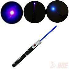 5mW Blue Violet Purple Laser Pointer Pen 405nM Visible Light Beam High Power