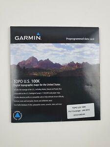 Garmin TOPO U.S. 100K maps - microSD/ SD V.4   010-C1042-00