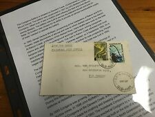 "Coolgarra Post Office ""Last Day Cover"" AAT Stamps - Very Interesting Postal Item"