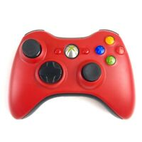 Xbox 360 Controller Red Matte Resident Evil Edition Tested Working Fast FS