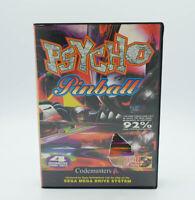 Psycho Pinball - Sega Mega Drive - Free P&P