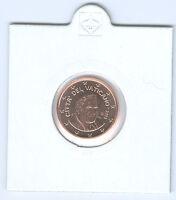 Vatican pièce de monnaie (Choisissez deux : 1 cent - et 2002 - 2018)