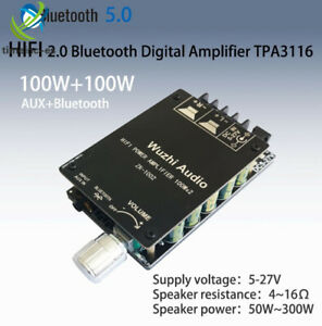 TPA3116 2x100W HIFI AUX+Bluetooth High Power with Filter Digital Amplifier Board