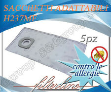 H237MF 5 sacchetti filtro microfibra x Hoover Athiss ST355