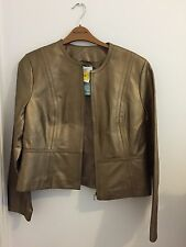 M & S WOMAN LEATHER JACKET