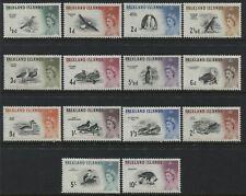 Falkland Islands QEII 1960 definitive set 1/2d to 10/ mint o.g.