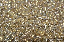 Toho Seed Beads 8/0 - Gold-Lined Crystal