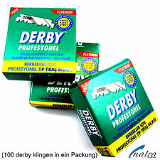 50 x Packs Derby Razor Blades Spare Blades for Razor Razor Blade
