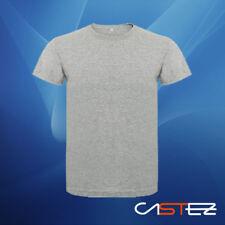Camiseta básica premium 100% algodón lisa unisex hombre mujer (ENVIO 24/48h)