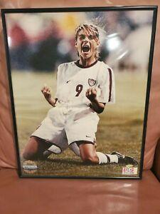 Mia Hamm USA Soccer Autographed Signed 16x20 Framed Photo Steiner Sports COA