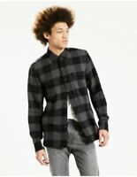 Levi's  Mens Classic Worker Shirt in Black Beauty Buffalo Check