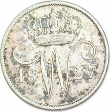 S6571 Netherlands  Pays-Bas 10 Cent 1827 Utrecht Willem I Silver ->Make offer