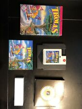 Trolls On Treasure Island NES Nintendo CIB Authentic