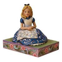 Alice In Wonderland Awaiting an Adventure Disney Traditions Jim Shore Statue