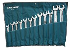 Signet Tools 12 Piece Large Combination Spanner Set Metric 21 - 34mm S30720