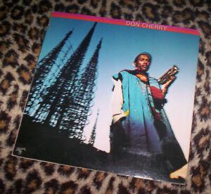 DON CHERRY ~ DON CHERRY. Orig US 1977 vinyl LP. Jazz. M-/EX.