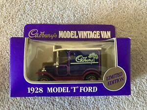Cadbury 1928 model vintage van - die cast collectible