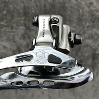 Campagnolo Record Road Bike Front Derailleur 10 Speed  Silver Campy 10s
