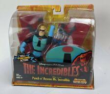 The Incredibles Punch N' Rescue Mr Incredible Action Figure & Bonus Poster NIB