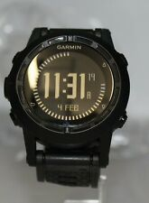 Garmin Tactix  with Black Silicone Band