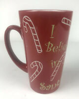 Mulberry Home Collection Red Holiday Christmas And Candy Cane Mug